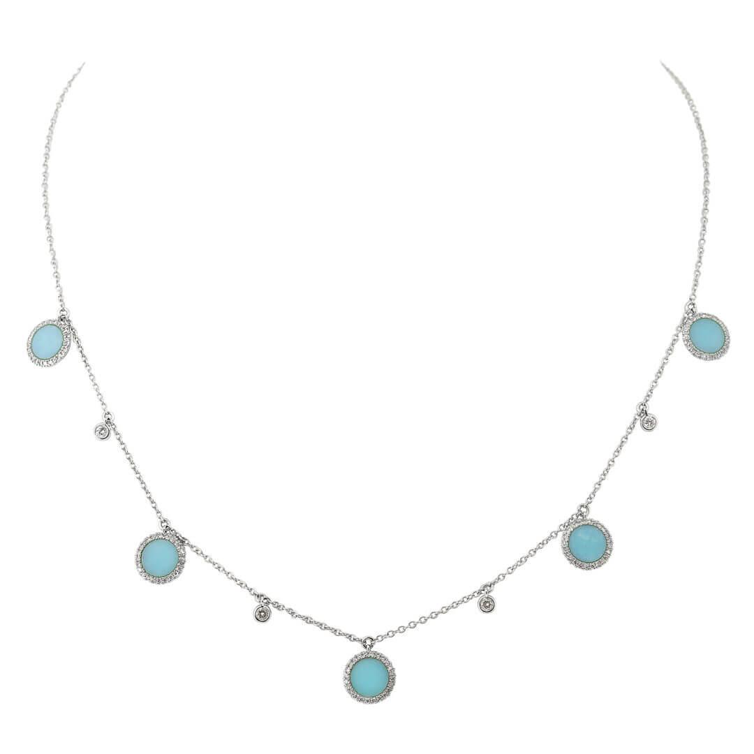 Turquoise Tivoli Necklace